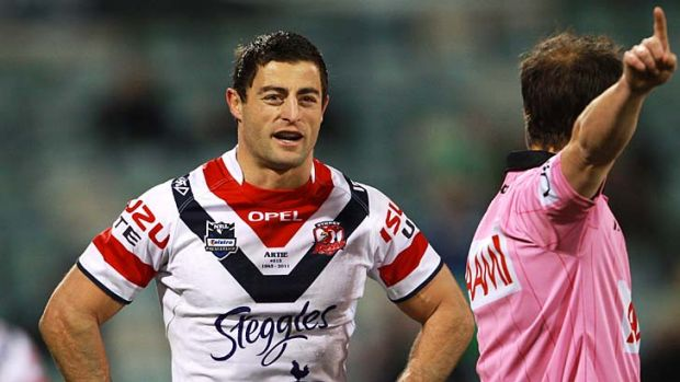 Anthony Minichiello ... free to make his 250th appearance for the Roosters on Sunday.