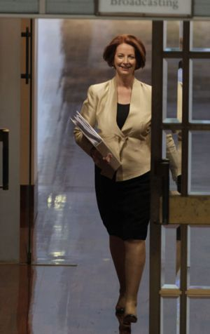 Prime Minister Julia Gillard — under fire on various fronts including a Melbourne house renovation and a union 'slush ...