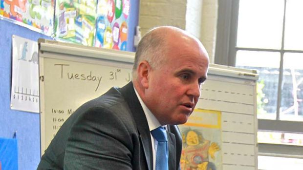 """Too important to be used as a political football"" ... Adrian Piccoli on school funding."