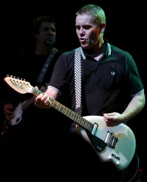 Upbeat … post-punk, Dave Wakeling became ''sick of being angry''.