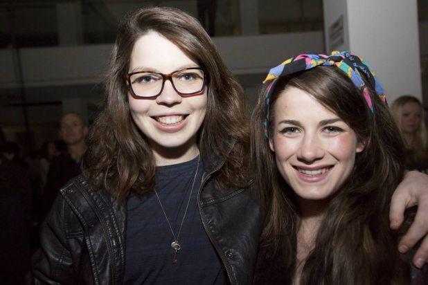 Natalie Sauness and Corina Retter.