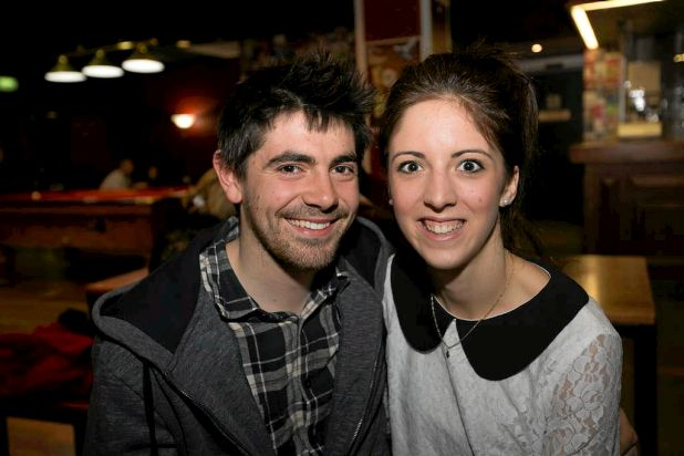 Liam Simmons and Louise Dalcol.