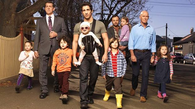 Ratings winner ... House Husbands.
