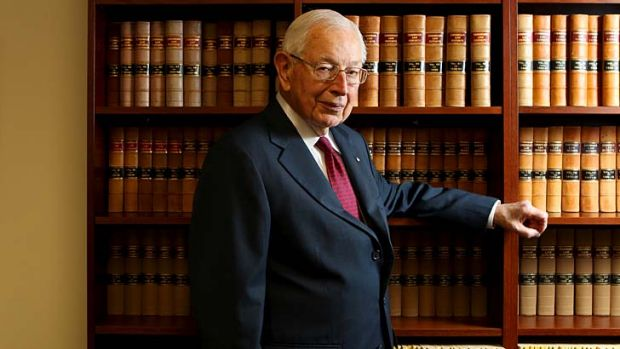 The 'third man' ...  former chief justice, Sir Anthony Mason.