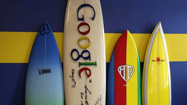 Riding the wave ... internet service companies such as Google and Facebook are reported to be in the market for ...