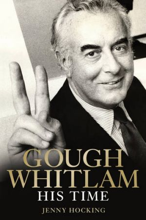 Jenny Hocking's book on Gough Whitlam.