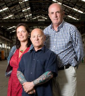 Comedian Catherine Deveny, rock singer Angry Anderson and former defence minister Peter Reith.