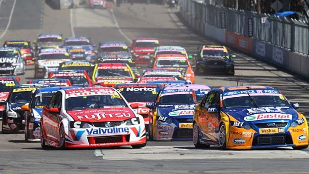 Channel Ten will need to secure the rights of one of the four big sports, like the V8 Supercars, to guarantee an ...