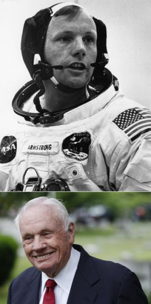 Neil Armstrong died aged 82.