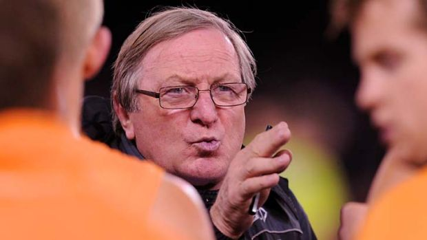 More work to be done … Kevin Sheedy's job as GWS coach is far from complete.