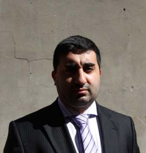 "Forced to remove slogan ""Our Independent Liberal Voice"" from his Facebook page ... Fairfield councillor Zaya Toma."