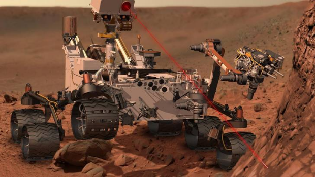 Curiosity runs on plutonium from a Soviet-era nuclear weapons plant.