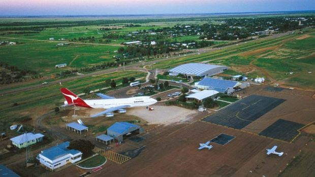 World-class ... the Longreach museum features planes and displays that draw about 40,000 visitors each year.