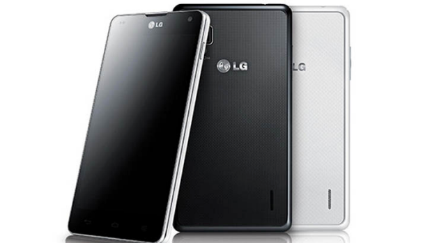 The LG Optimus G.