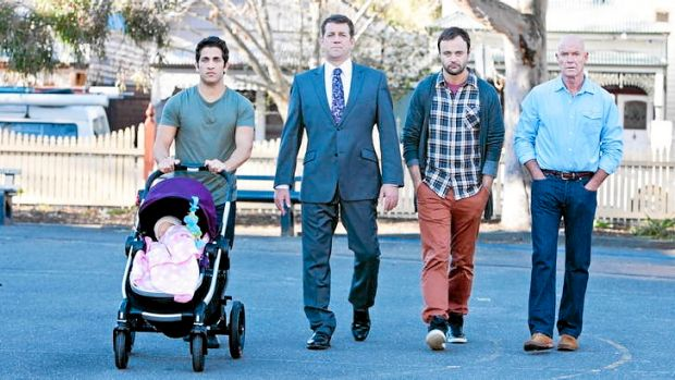 <i>House Husbands</i> taps into the modern trend of men staying home to look after their children.