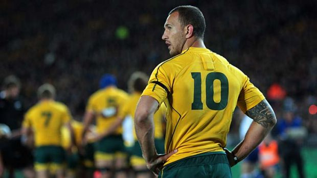 Quade Cooper has reportedley turned his back on Australian rugby.