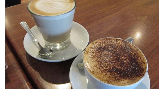 The coffee at Cafe Lumos gets a big tick.