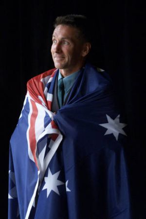 Professor Brendan Burkett, who was the Australian Paralympic team's flag bearer at the Sydney Games, is now a sports ...
