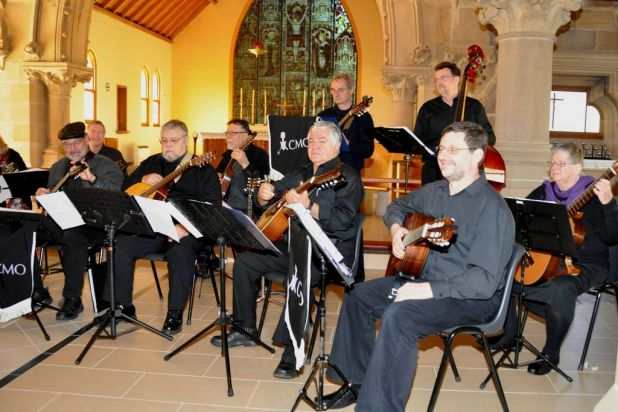 The Canberra Mandolin Orchestra at All Saints Church, Ainslie.