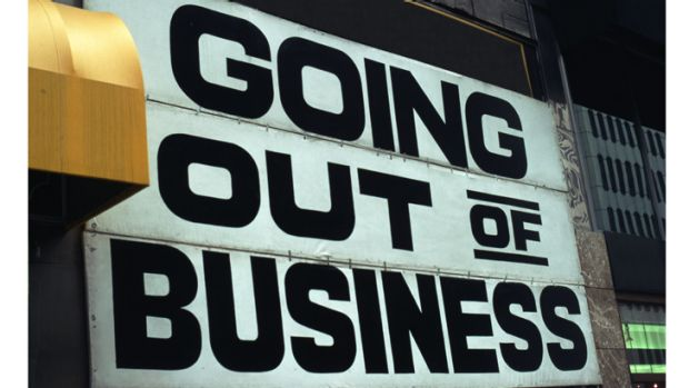 Just 58% of Queensland businesses survived last year - down from 84% during the global financial crisis in 2008.