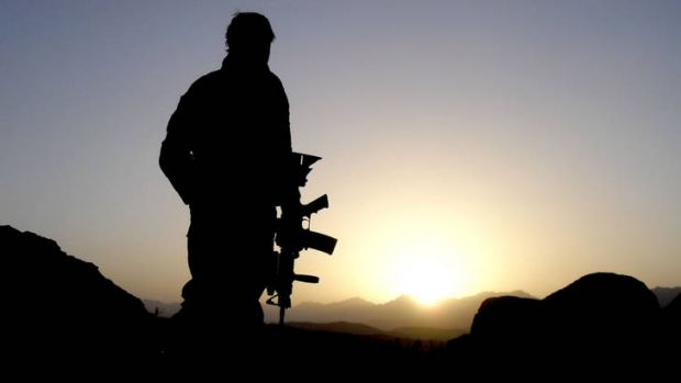 Picture this: you are a twentysomething Australian soldier in Afghanistan.