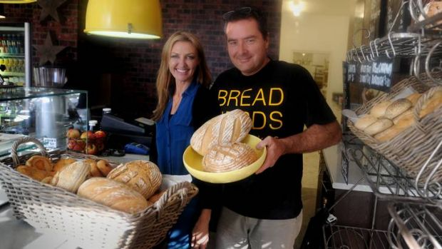 Bread Nerds owners  Shane and Sharon Peart have cleaned up their store.