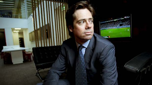The AFL's No.2 Gillon McLachlan.