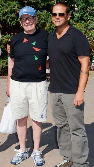 Rupert Murdoch and his son Lachlan.