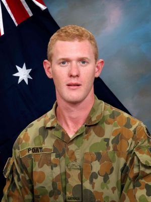 Private Robert Poate, born in Canberra.