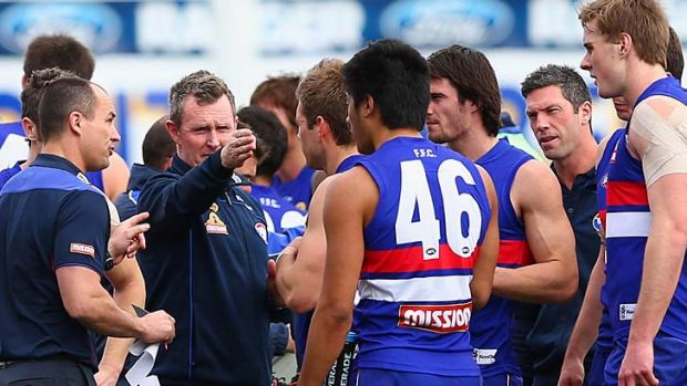 One direction: Brendan McCartney's Bulldogs need to improve their overall skill level next season.