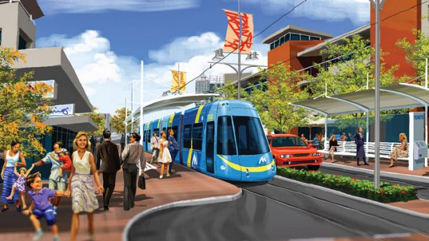 The proposed light rail network will run from Balga to the CBD.