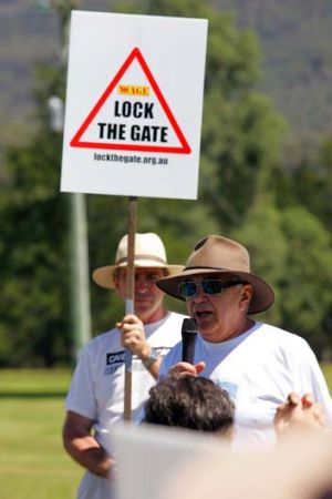 """""""We're concerned that the Hunter Valley is going to end up being a brick pit and not much else"""" ... Graeme Gibson."""