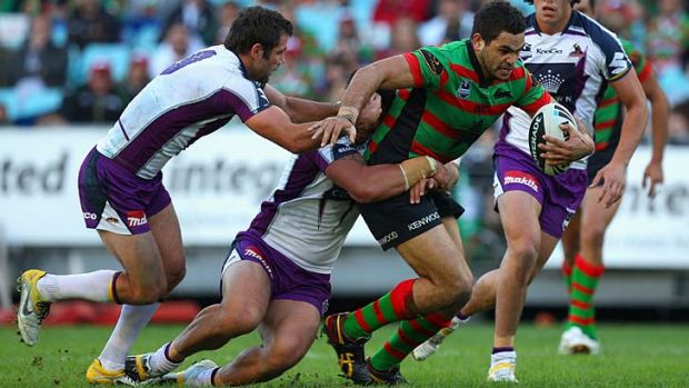 On the other foot … Greg Inglis the Rabbitoh.
