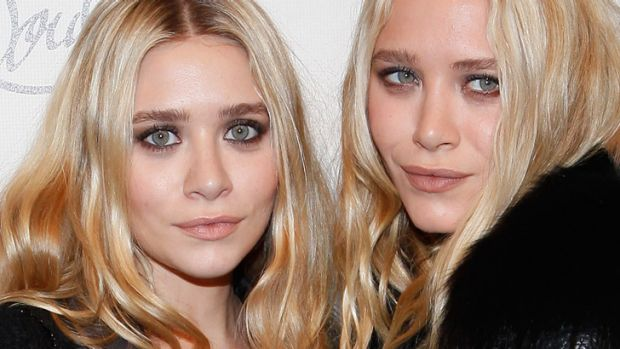 Two tone ... Ashley and Mary-Kate Olsen.