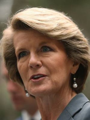 Send 'em back ... Julie Bishop says Sri Lankan boat people are economic migrants.