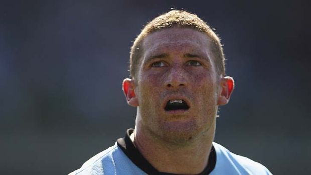Cronulla's Ben Pomeroy is facing suspension for his hit on Johnathan Thurston.