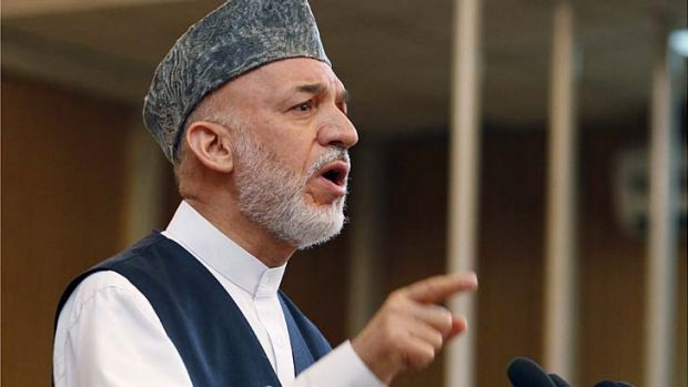 """President Hamid Karzai strongly condemns the unilateral military operation conducted by the Australian troops that ..."