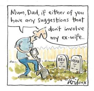 <em>Illustration: Cathy Wilcox</em>
