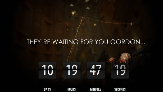 Half-Life fans who have waited years for the fan-made Black Mesa mod are now being taunted with this countdown.