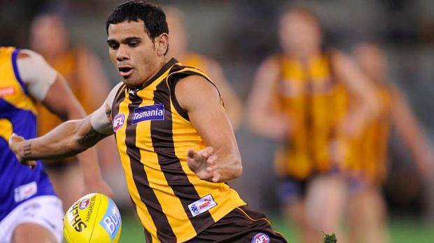 Cyril Rioli survived the West Coast win unscathed.