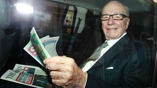 Fallout ... investigations into Rupert Murdoch's British newspapers may last for at least three years.