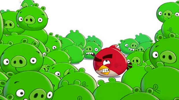 """Bad Piggies is launching on September 27 """"with no slingshot in sight""""."""