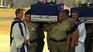 Fallen Diggers return home to rest (Video Thumbnail)