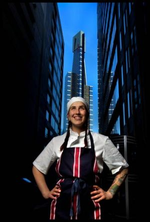 Tregan Borg, who appeared on MasterChef, is leaving Maha to work in Jamie Oliver's Ministry of Food in Geelong.