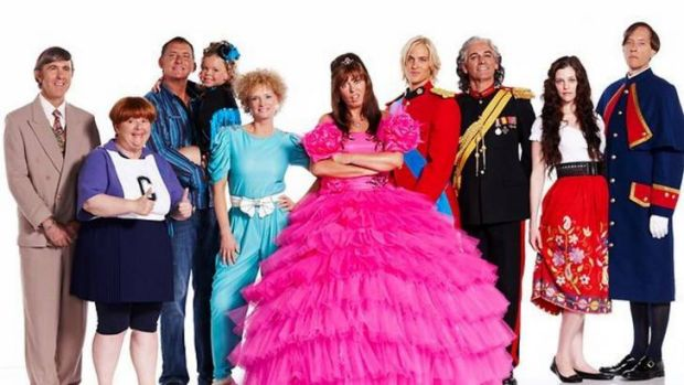 The cast of <i>Kath and Kimderella</i>.