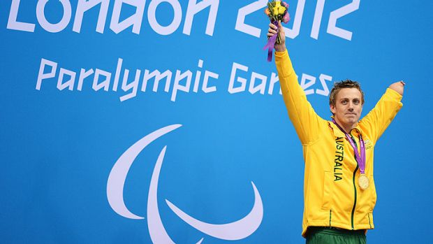 Stunning achievement ... Matt Cowdrey with his 11th gold medal.