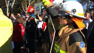 Workers protest against job cuts in Toowoomba