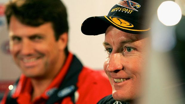 Paul Roos (left) and Worsfold. The former Sydney coach says there's no point in having a plan B and C if plan A is no ...