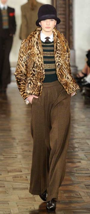 Ralph Lauren A/W 2012 saw a Great Gatsby-esque presentation.