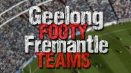 Real Footy Finals: Geelong v Fremantle (Video Thumbnail)